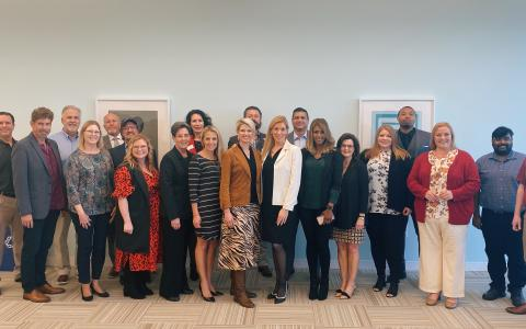 Van Duyne Hosts North Texas Small Business Roundtable
